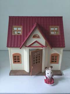 Sylvanian House cosy cottage