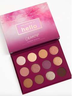 🚚 Coloupop You Had Me At Hello Shadow Palette