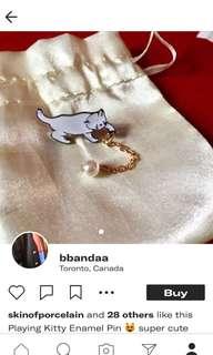 Kitty Enamel Pin