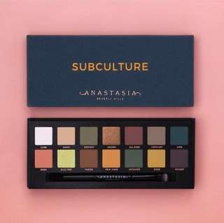 🚚 Anastasia Beverly Hills Subculture Palette