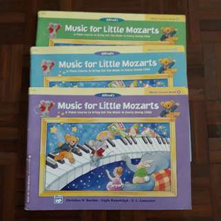 Little Mozarts - Lesson Book