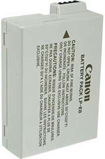 LPE8 OEM Battery for canon