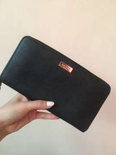 Kate Spade Black Long Wallet