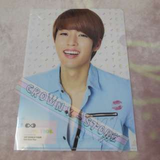 [CRAZY DEAL 90% OFF FROM ORIGINAL PRICE][READY STOCK]INFINITE SUNGYEOL KOREA CONCERT OFFICIAL A4 SIZE FILE 1PC!ORIGINAL FR KOREA (PRICE NOT INCLUDE POSTAGE)PLEASE READ DETAILS FOR MORE INFO; POSLAJU:PENINSULAR AREA :RM10/SABAH SARAWAK AREA: RM15