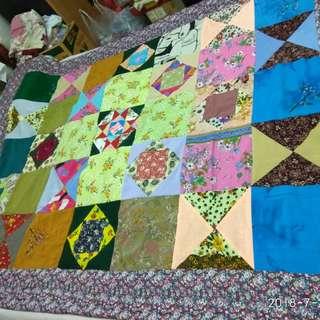 "🚚 Brand new Patchwork Blankets 58""x78"""