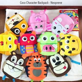 Character Backpack Neoprene