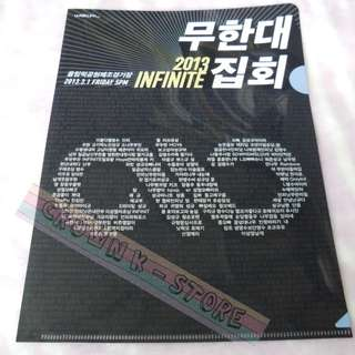 [CRAZY DEAL 90% OFF FROM ORIGINAL PRICE][READY STOCK]INFINITE KOREA CONCERT OFFICIAL A4 SIZE FILE 1PC!ORIGINAL FR KOREA (PRICE NOT INCLUDE POSTAGE)PLEASE READ DETAILS FOR MORE INFO; POSLAJU:PENINSULAR AREA :RM10/SABAH SARAWAK AREA: RM15