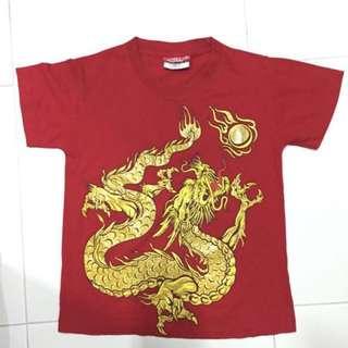 BN 100% Cotton Dragon Fire Ball Tee Shirt