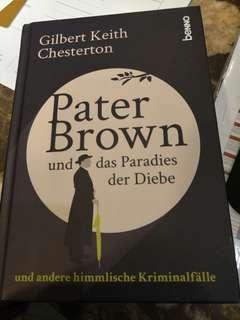 German Storybook- Pater Brown und das Paradies der Diebe