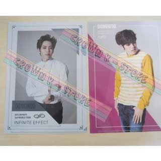 [LAST 1SET][CRAZY DEAL 90% OFF FROM ORIGINAL PRICE][READY STOCK]INFINITE DONGWOO KOREA CONCERT OFFICIAL A4 SIZE FILE 2PC!ORIGINAL FR KOREA (PRICE NOT INCLUDE POSTAGE)PLEASE READ DETAILS FOR MORE INFO; POSLAJU:PENINSULAR AREA :RM10/SABAH SARAWAK AREA: RM15