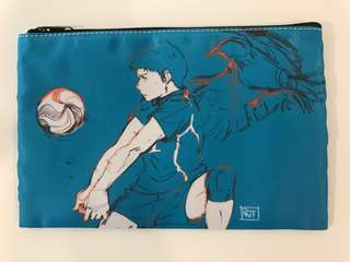 Haikyuu Daichi Fan Art Merchandise (Pencil case)