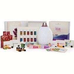 Young Living Essential Oils Premium Starter Kit with Desert Mist or Dew Drop Diffuser