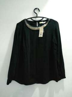 Blouse minimal black