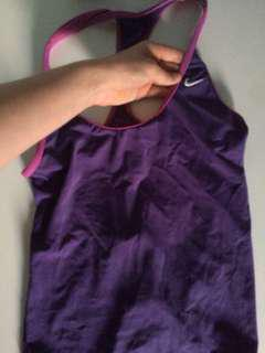 NIKE tank top purple