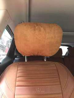 高質汔車頭枕,另可秀字,秀圖案