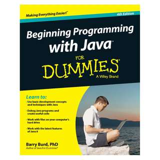 Beginning Programming with Java For Dummies 4th Edition by Barry A. Burd [eBook]