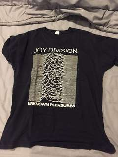 T shirt Joy Division Unknown Pleasures