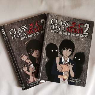 Class 3C Has A Secret Book 2: Part 1 and 2