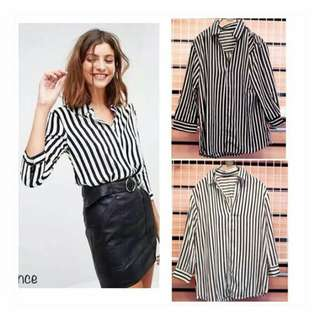 shirt stripe zara
