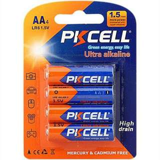 PKCELL Ultra Alkaline AA Battery