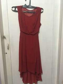 Bangkok Red Dress