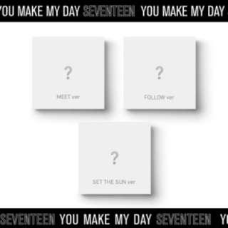 [PO] [3 VER] SEVENTEEN 5th Mini Album 'You Make My Day'