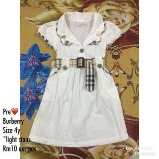Burberry dress kids