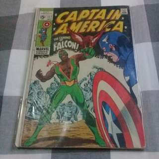 Captain America 117 First Appearance The Falcon