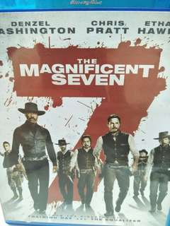 The magnificent seven movie Blu-ray