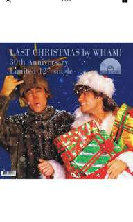 "Vinyl Record by Wham -Last Christmas 12"" colored"