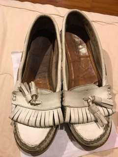 Zara white shoes size 35