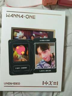 WTS Wanna One Undivided(No.1) Guanlin pc