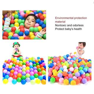 100pcs soft ocean ball non-toxic for children play