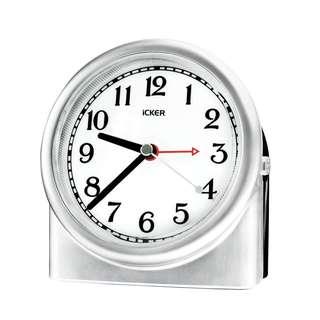 1214. iCKER Non-ticking Analog Alarm Clock