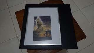 Frame foto hitam