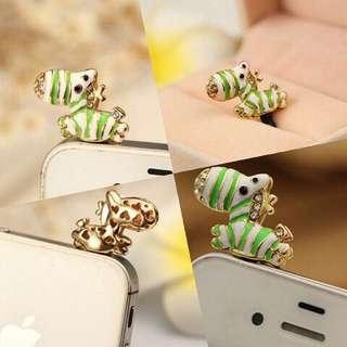 Cute zebra (jewelry pluggy)