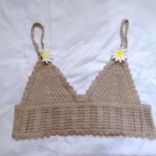 Crochet Bralette Crop Top