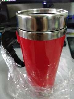 (BNIB) 500ml Self Stirring Cup - Red