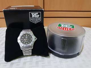 authentic tag heuer watch with case & box  RANK A