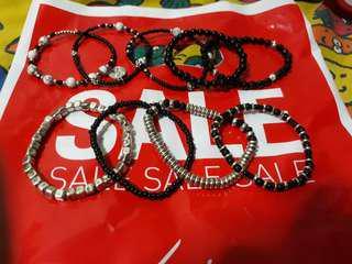 Lovisa small bangles/Bracelet set of 9