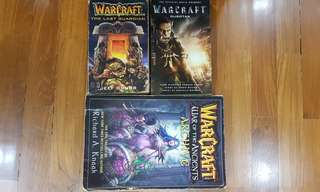 🚚 WARCRAFT ALL BOOKS MUST GO