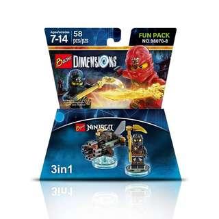BOZHI™ 98070-8 Dimensions 3in1 Ninjago Cole Boulder Bomber