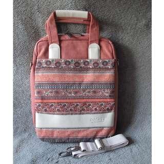 """民族款 橙色 電腦袋 手提包 13.3"""" computer bag"""