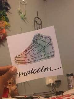 🚚 Watercolour Card