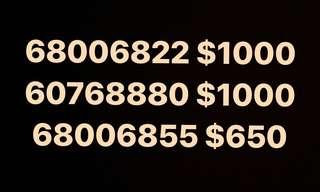 最後3款❗️靚電話號碼出售 好多8字❗️