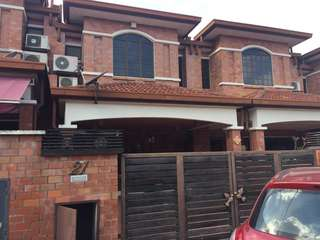 Fully furnished + Double Storey (For Rent)