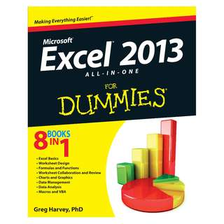 Excel 2013 All-in-One For Dummies 1st Edition by Greg Harvey [eBook]