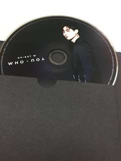 [WTT] Nu'est W who you Aron Baekho cover CD Ren poster JR Nuest