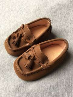 Formal/Casual brown shoes for 6-12mos