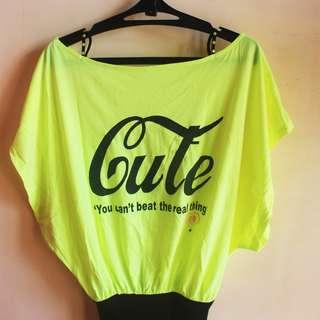 Neon Shirt (Cute)